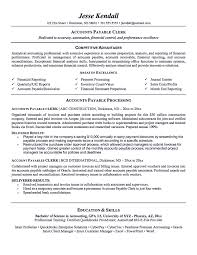 accounts payable resume format account payable resume display your skills as account payable