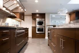 modern kitchen with brown cabinets chocolate brown cabinets contemporary kitchen aidan design