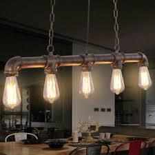 rustic ceiling lights uk 5 heads industrial steunk pendant pipe rustic ceiling light