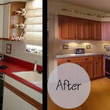 How To Reface Kitchen Cabinets Furniture Brown Kitchen Cabinet Refacing With Black Countertop