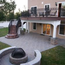 Decks And Patios Designs One Of The Challenges We Come Across Often As We Design Walkout