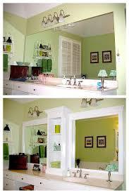 bathroom mirror trim ideas 25 best mirror trim ideas on diy framed mirrors diy