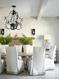 Dining Room Chairs With Slipcovers White Chair Slipcovers 8libre