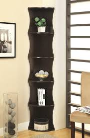 corner bookcase with doors corner bookshelf wood corner bookshelf for small houses u2013 home