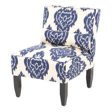 Blue And White Accent Chair Ideal Blue And White Accent Chair For Home Decoration Ideas With