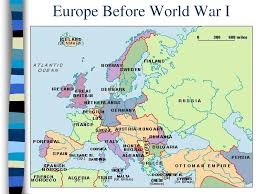 europe map before wwi map of europe before and after ww1 inspiring