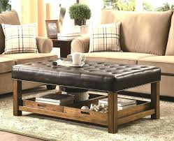 Using An Ottoman As A Coffee Table Large Fabric Ottoman Square Fabric Ottoman Coffee Table Large Size