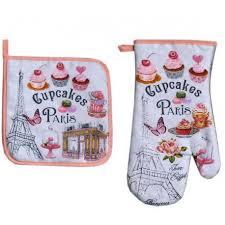 gant de cuisine gant de cuisine et manique cupcakes souvenirs de par ici