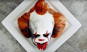 video learn how to make your own terrifying pennywise cake