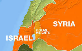 Map Of Syria Conflict by Is The War Between Israel And Syria About To Explode