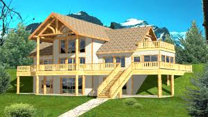 house plan floor plans with walkout basements within lake home