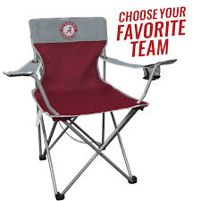 Chair Case Amazon Com Ncaa Portable Folding Kickoff Chair With Cup Holder