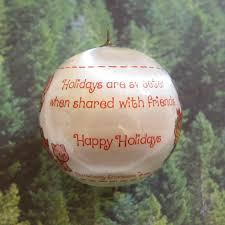 happy holidays strawberry shortcake ornament silk