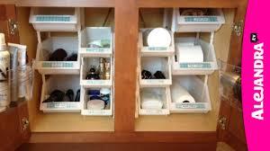 video bathroom organization