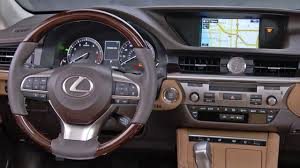 lexus es es 2017 lexus es 350 interior youtube