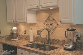 backsplash awesome granite countertops with glass tile