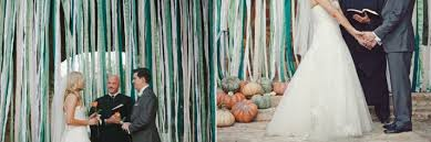 wedding backdrop ideas diy five ribbon backdrop ideas for your diy wedding