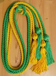 graduation cord gold and green cord cords honor cords