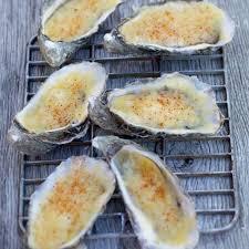 cuisiner les huitres huître gratinées à l emmental julie andrieu