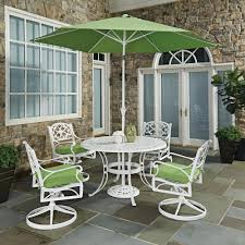 Outdoor Dining Room Hampton Bay Corranade 7 Piece Wicker Outdoor Dining Set With
