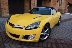 saturn sky orange saturn sky redline hardtop