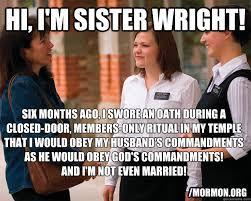 Anti Mormon Memes - mormons without secrets memes quickmeme