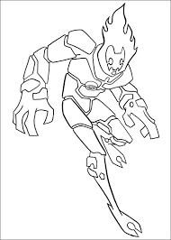 ben 10 ultimate alien coloring pages free coloring pages kids