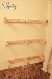 easy diy floating shelves floating shelf tutorial video u0026 free plans