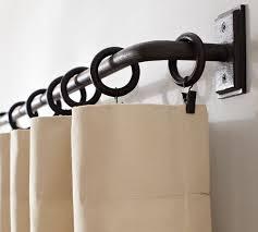 Cheap Curtain Poles Uk Best 25 Black Curtain Pole Ideas On Pinterest White Curtain