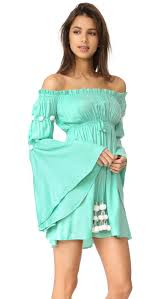 sun dress shop sundress dress in aqua white at modalist m0005000071038