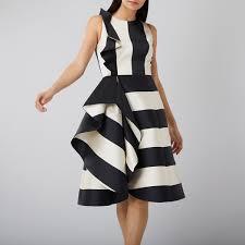 black and white dresses monochrome dresses black and white dresses striped