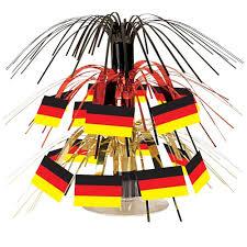mini german flag cascade centerpiece partycheap