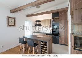 contemporary kitchen interiors kitchen cabinets stock images royalty free images vectors