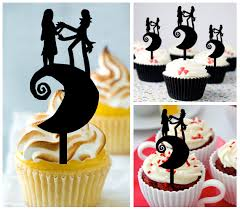 nightmare before christmas cupcake toppers ca425 decorations cupcake toppers nightmare and similar items