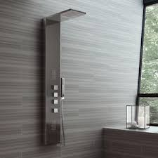 designer showers bathrooms thermostatic shower panel column tower jets bathroom luxury