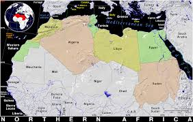 Map Of Northern Africa by Northern Africa Public Domain Maps By Pat The Free Open Source