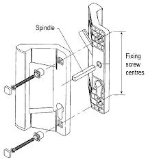 Patio Handle Sliding Door Handles For Patio Doors