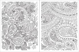 posh coloring book paisley designs for relaxation