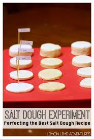 salt dough experiment for the best recipe