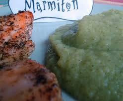 cuisiner le brocolis marmiton saumon mariné et sa purée de brocolis recette de saumon mariné