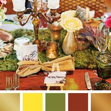 trendy fall wedding colors sds eventssds events