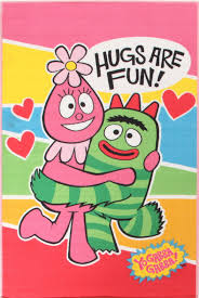 Yo Gabba Gabba Images by Buy Yo Gabba Gabba Non Slip 5 Hugs Pink Rug At Cheapest Rugs Online