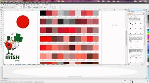 Pantone Colors by Corel How To Select A Spot Color Using The Pantone Color Chart