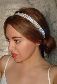 rhinestone headbands rhinestone headband bridal headpiece bridal headband hair