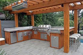 outdoor kitchen pictures design ideas picture of custom outdoor kitchen bbq smokers nc big green egg