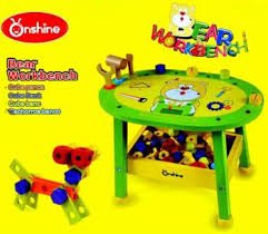 Toy Wooden Tool Bench Kids Wooden Work Bench With Tools Toys Indoor Gumtree