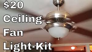 Ceiling Light Kit Ceiling Fan Light Kit Diy