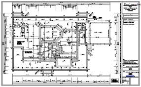 working drawing floor plan drawing of bungalow design drawing