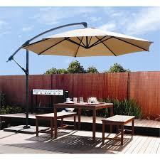 Patio Umbrellas Cantilever Furniture Large Cantilever Patio Umbrella In With Wooden