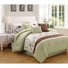 Sage Home Decor Brown And Sage Green Comforter Sets Sohoteis Decoration